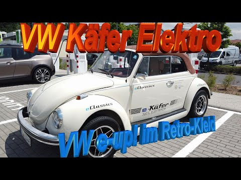 VW Käfer Elektro: e-up!-Technik im Retro-Kleid! www.e-Classics.eu macht´s möglich 😎