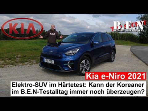 Kia e-Niro 2021 im Härtetest: Kann das kompakte Elektro-SUV im B.E.N-Alltagstest überzeugen?
