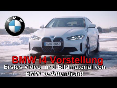 BMW i4 Weltpremiere! Erstes Video- und Bildmaterial sowie technische Daten 😎