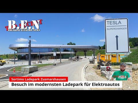 Europas MODERNSTER LADEPARK für Elektroautos: Besuch bei Sortimo in Zusmarshausen