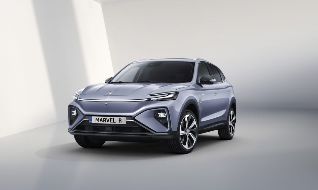 MG Marvel R Elektro-SUV